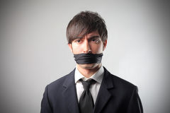 No free speech royalty free stock image