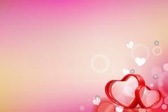 No fundo do amor Imagem de Stock