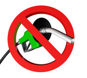 No gas large Royalty Free Stock Image