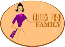 No gluten family Royalty Free Stock Photography