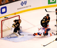 No Goal!  Bruins v. Islanders Royalty Free Stock Photography