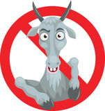 No_goat Fotografia Stock