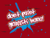 No graffiti Stock Image