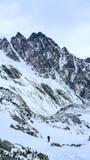 No grande vale frio, Tatras alto, Eslováquia Foto de Stock