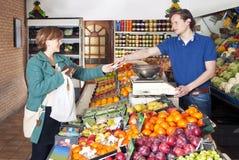 No Greengrocer Imagens de Stock