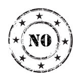 No grunge rubber stamp background. An illustration of  no grunge rubber stamp background Royalty Free Stock Images
