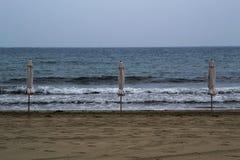No hace hoy día de la playa imágenes de archivo libres de regalías