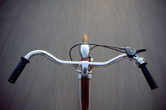 No hands speed ride Royalty Free Stock Photo
