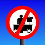 No hawking sign Royalty Free Stock Photos