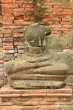 No head buddha Image Stock Photo