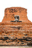 No head and hand Buddha. In Thailand stock photography