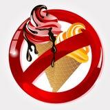 No ice cream Royalty Free Stock Image