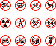 No Icons Stock Photography
