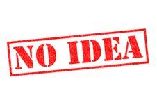 NO IDEA Royalty Free Stock Photography