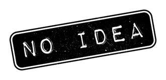 No Idea rubber stamp. On white. Print, impress, overprint Stock Photo