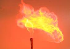 No incêndio imagens de stock royalty free