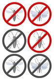 No insects grey Royalty Free Stock Photo