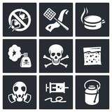 No Insects Icon Collection Stock Image