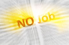 No Job conception Royalty Free Stock Image