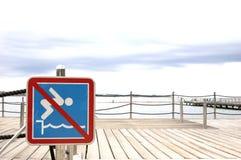 No jumping Stock Photo