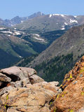 No Jumping. Tundra at high elevation in the Colorado Rockies royalty free stock image