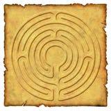 No labirinto - circuito 6 Imagem de Stock