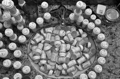 No lance la medicina abajo del dren Imagen de archivo libre de regalías