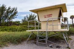 No Lifeguard on Duty Royalty Free Stock Photography