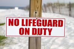 Free No Lifeguard On Duty Stock Photography - 15185572