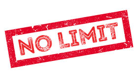 No Limit rubber stamp Royalty Free Stock Photography