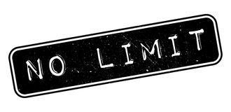 No Limit rubber stamp Royalty Free Stock Photos