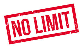 No Limit rubber stamp Royalty Free Stock Images