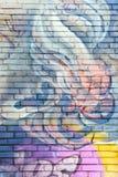 No limit 2017 street arts. No limit 2017 street art murals by Pichi Avo Stock Photo