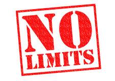 NO LIMITS Stock Images