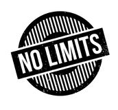 No Limits rubber stamp Royalty Free Stock Photo