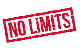 No Limits rubber stamp Royalty Free Stock Photography