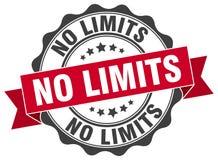 No limits seal Royalty Free Stock Image