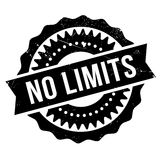 No limits stamp Stock Photography
