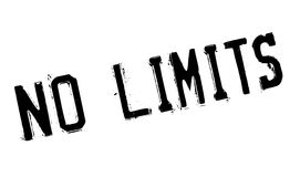 No limits stamp Stock Photo
