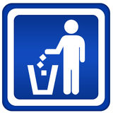 No littering Stock Photography