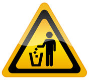 No littering Royalty Free Stock Photography