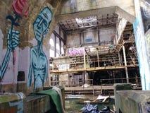 Market street new orleans abandoned power plant stock photo