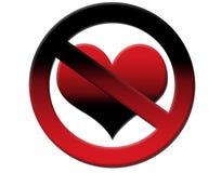 No Love Stock Photo