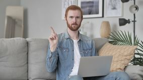 No, Man Disliking Offer by Waving Finger