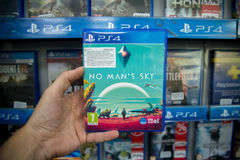 No man`s sky Stock Images