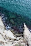 No mar Foto de Stock Royalty Free