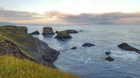 No mar da Islândia Fotografia de Stock
