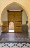 No mausoléu de Moulay Ali Cherif em Rissani - Marrocos Fotos de Stock
