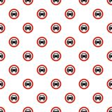 No mechanical vehicle pattern seamless Stock Photography