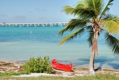 No meio das chaves, Florida, janeiro 2007 Imagens de Stock